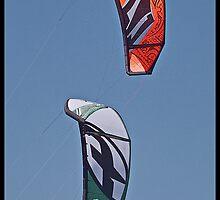 Twin Kites by Warren. A. Williams