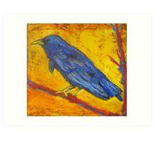 Crow Balance Art Print