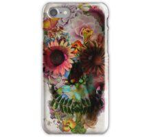 Floral Skull flower iPhone Case/Skin