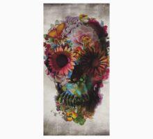 Floral Skull flower Kids Tee