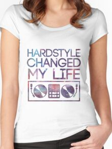 HARDSTYLE TEE Women's Fitted Scoop T-Shirt