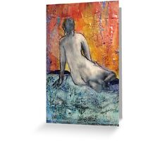 Woman Vista Greeting Card