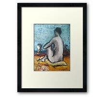 Comfort at the Beach Framed Print