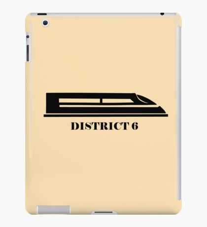 The Hunger Games - District 6 iPad Case/Skin