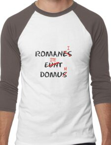 ROMANI ITE DOMUM Men's Baseball ¾ T-Shirt