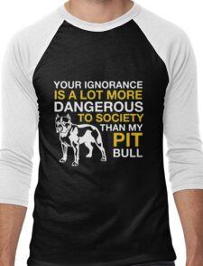 MY PIT BULL Men's Baseball ¾ T-Shirt