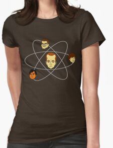 The Big Bang Theory - Atom Womens Fitted T-Shirt
