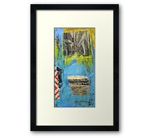 On Tour Framed Print