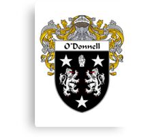 O'Donnell Coat of Arms/Family Crest Canvas Print
