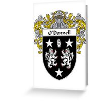 O'Donnell Coat of Arms/Family Crest Greeting Card