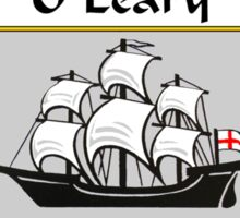 O'Leary Coat of Arms / O'Leary Family Crest Sticker