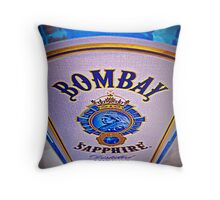 Bombay Sapphire Throw Pillow