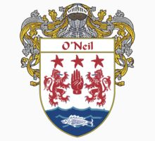 O'Neil Coat of Arms / O'Neil Family Crest by William Martin