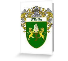 O'Reilly Coat of Arms / O'Reilly Family Crest Greeting Card