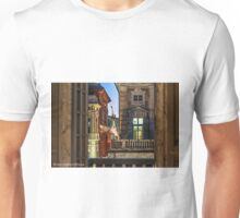 Genoa, via Garibaldi, Palazzi dei Rolli Unisex T-Shirt