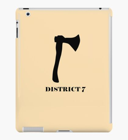 The Hunger Games - District 7 iPad Case/Skin