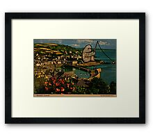 fishing gumbo Framed Print