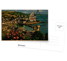 fishing gumbo Postcards