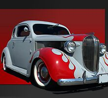 1938 Plymouth Coupe (primer with flames) by TeeMack