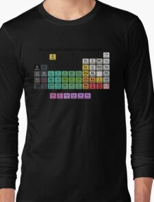 The Periodic Table Of Supernatural Long Sleeve T-Shirt