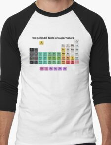 The Periodic Table Of Supernatural Men's Baseball ¾ T-Shirt