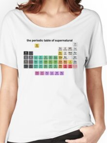 The Periodic Table Of Supernatural Women's Relaxed Fit T-Shirt