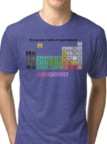 The Periodic Table Of Supernatural Tri-blend T-Shirt