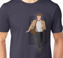 11th Doctor - Basically, Run! Unisex T-Shirt