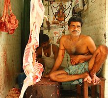 Indian Butcher by AroundOurWorld