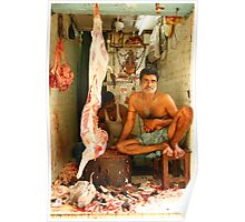 Indian Butcher Poster