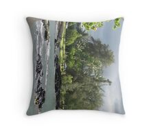 Japanese Garden, Hilo  Throw Pillow