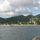 Village Under Clouds, St. Maarten by Nic Antoinette