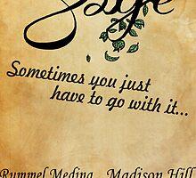 Sage Poster by Jupigorg
