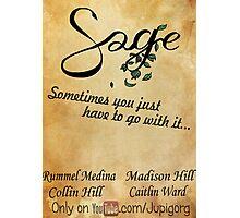 Sage Poster Photographic Print