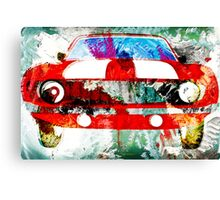 Red Camaro  Canvas Print