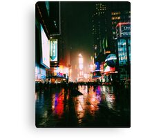 Post-New Year's Times Square Canvas Print