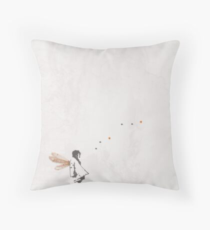 i want to fly with you... Throw Pillow