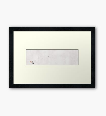 i want to fly with you... Framed Print