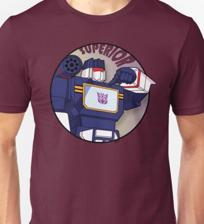 Soundwave: Superior Unisex T-Shirt