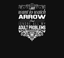 Green Arrow - I Just Want To Watch Arrow T-Shirt Long Sleeve T-Shirt