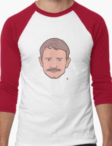 I Don't Shave for ... ANYONE Men's Baseball ¾ T-Shirt
