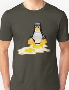 LINUX TUX PENGUIN TWINS SUNNYSIDE UP  T-Shirt