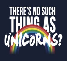 There's no such thing as unicorns? by poetickale