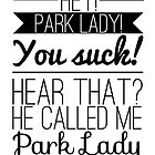 Parks and Recreation - Park Lady by ffiorentini