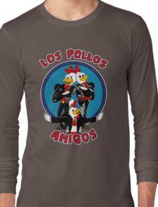 Los Pollos Amigos Long Sleeve T-Shirt