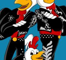 Los Pollos Amigos Sticker