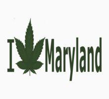 0218 I Love Maryland  by Ganjastan