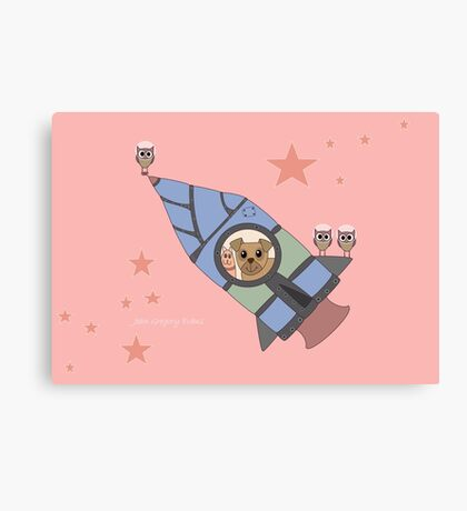WHO LOVES TO FLY? WHO?? WHO??? Canvas Print