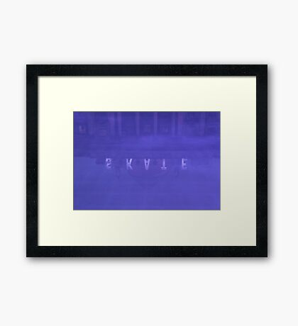 Ice Rink at Somerset House Framed Print