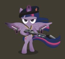 Gunner Twilight Sparkle by GoneIn10Seconds
